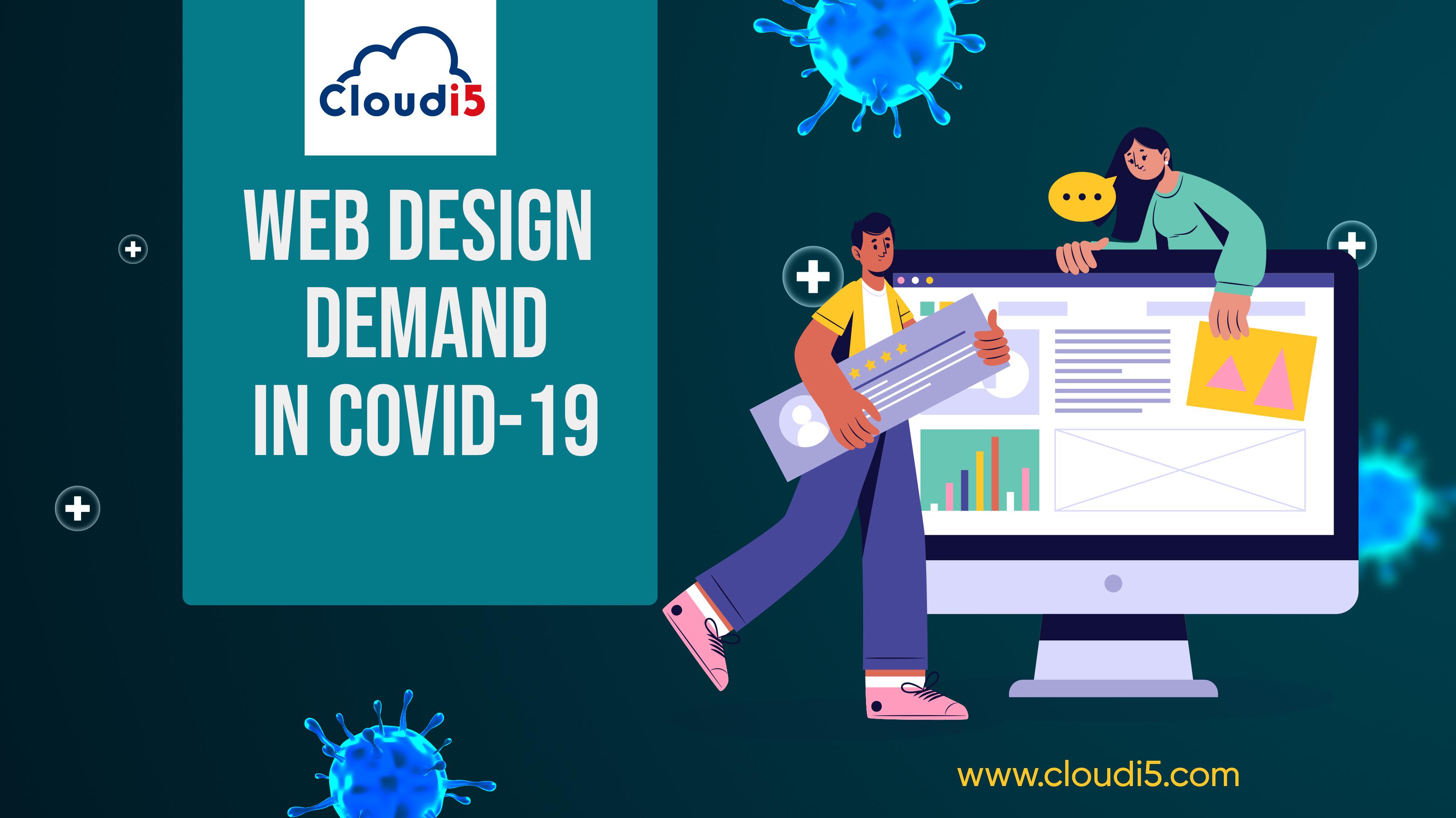 Web design and rising demand in COVID