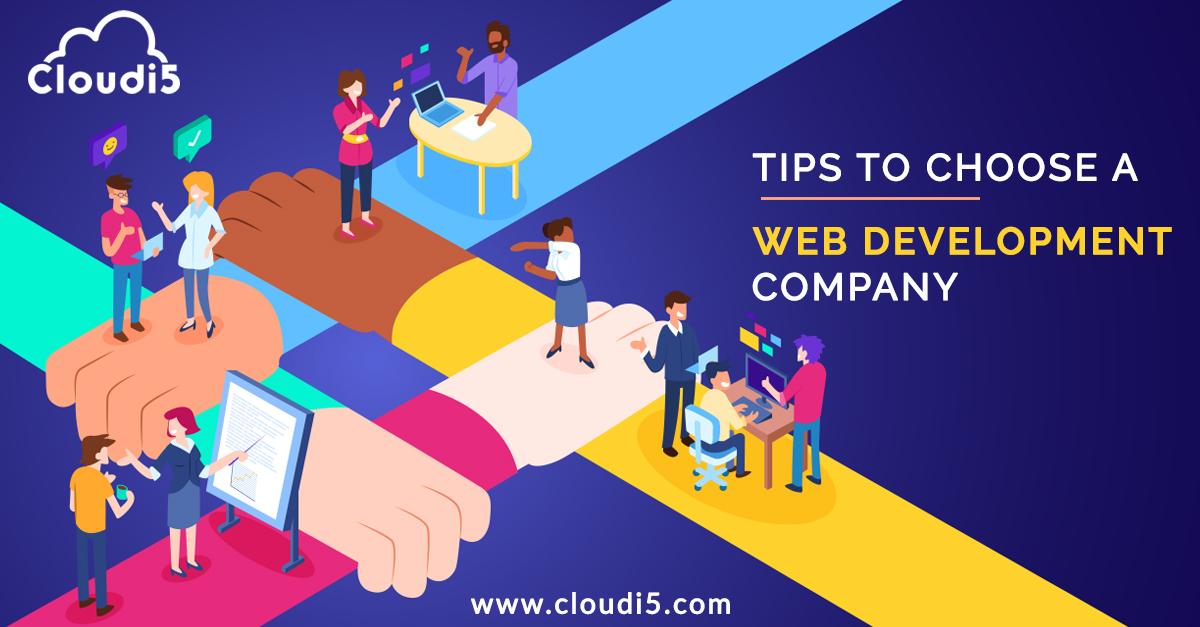How to choose a web development company?