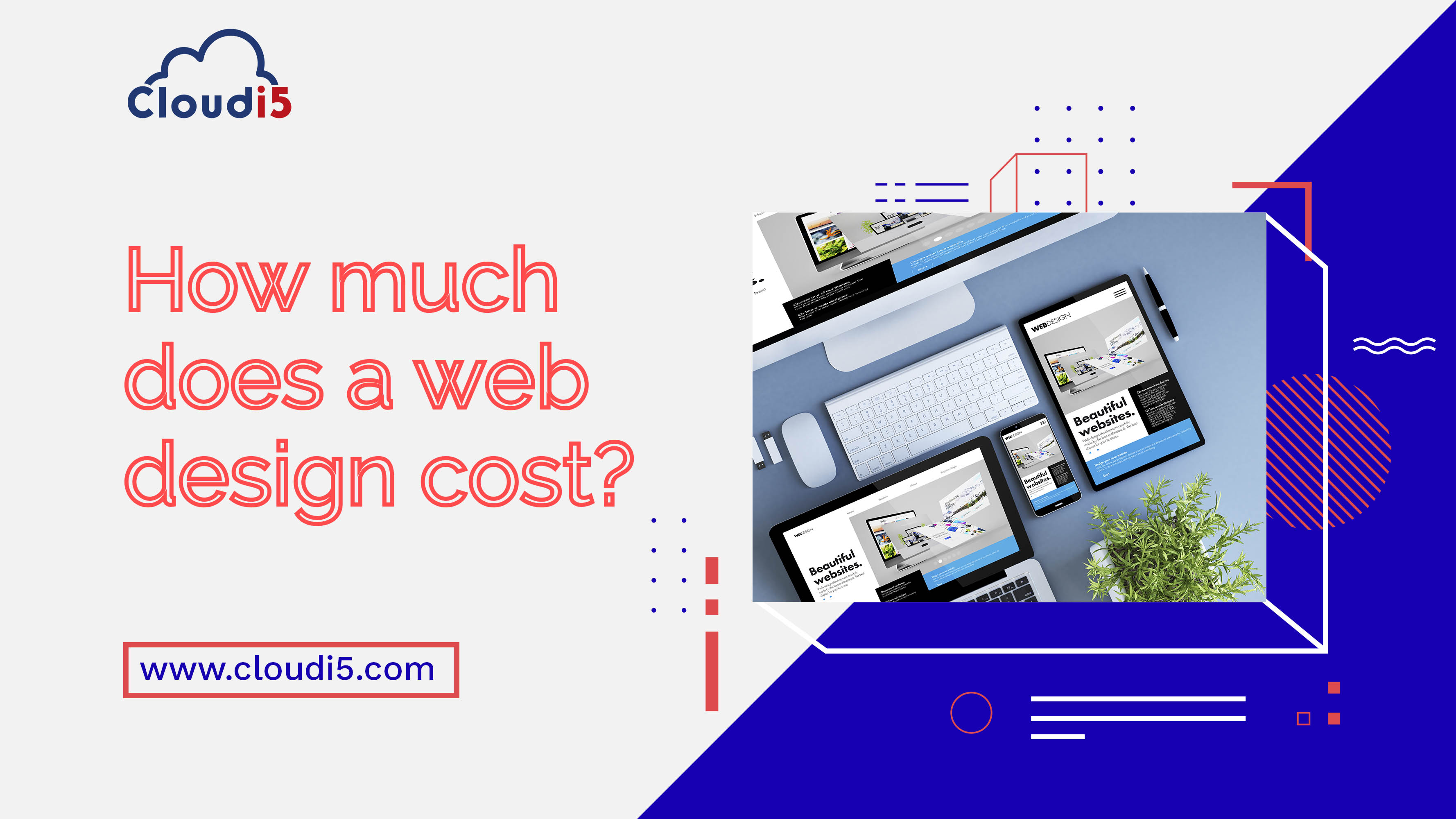 How much does a web design cost?