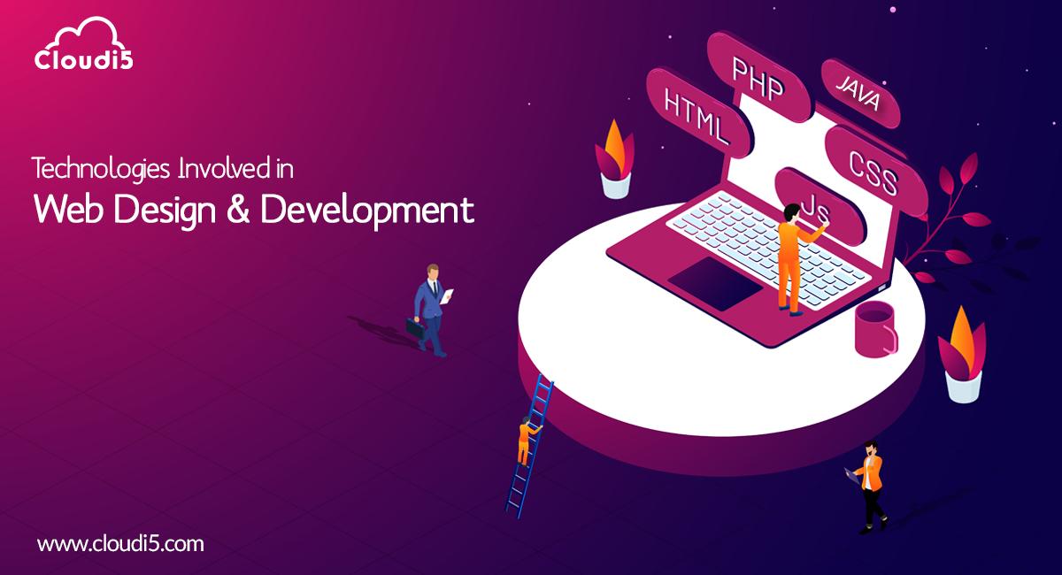 Technologies Involved In Web Designing & Development