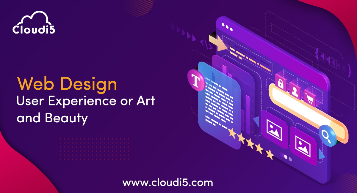 Web design is more about user experience than about art and beauty