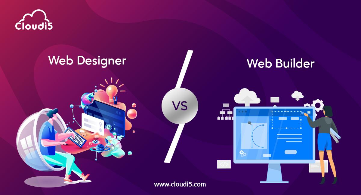 Advantages of hiring a web designer over a DIY online web builder